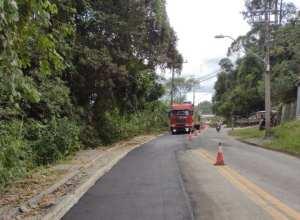 Rua Silvano Cândido da Silva Sênior após manutenção