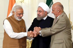 Iran and India deal