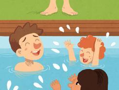 Declogo para evitar situaciones de peligro en las piscinas  Faros HSJBCN