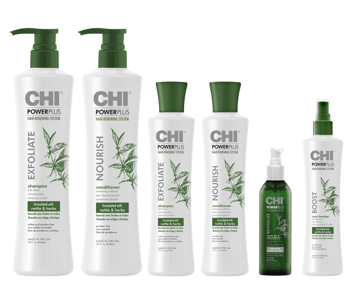 CHI Power Plus Complete Line Up preview - CHI POWER PLUS
