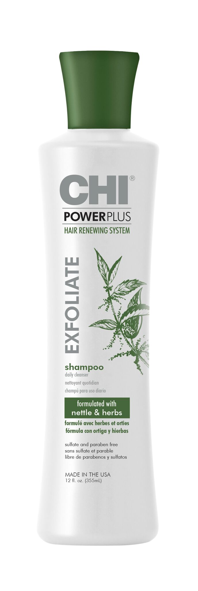 CHI Power Plus Line Shampoo 12oz preview - CHI POWER PLUS