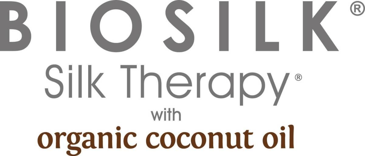Biosilk Silk Therapy Coconut Oil Logo - Biosilk Organic Coconut Oil
