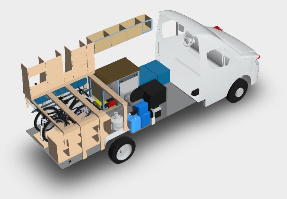 Ford Transit 3D model December 2016
