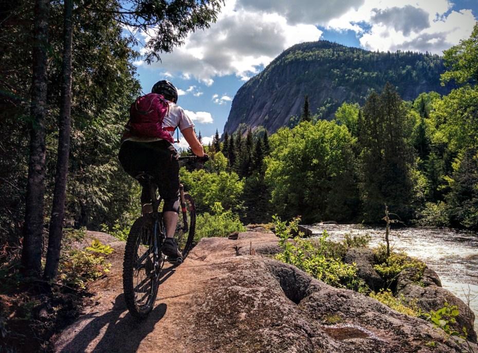 mountain bike Vallée Bras du Nord