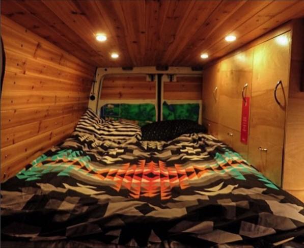 Sprinter Van Diaries bedside cabinets