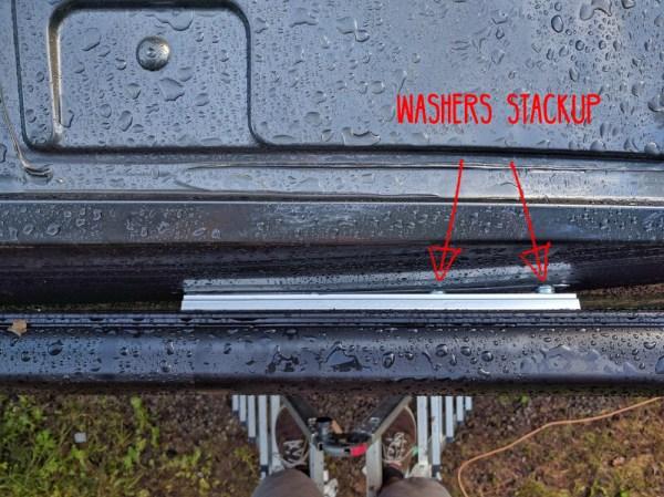Washer Stackup