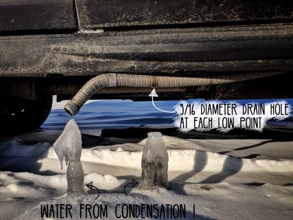 Webasto-Exhaust-Condensation-Drain-Hole