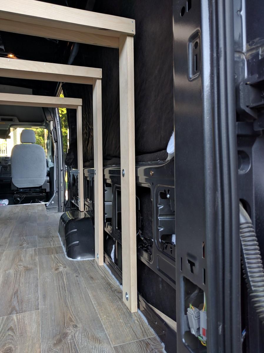 Bed Installation Van Conversion 3