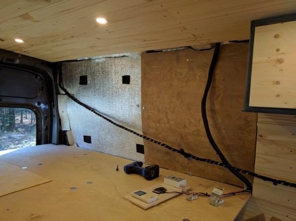 Bed Storage Van Conversion (14)