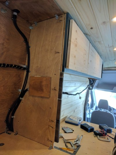 Bed Storage Van Conversion (18)