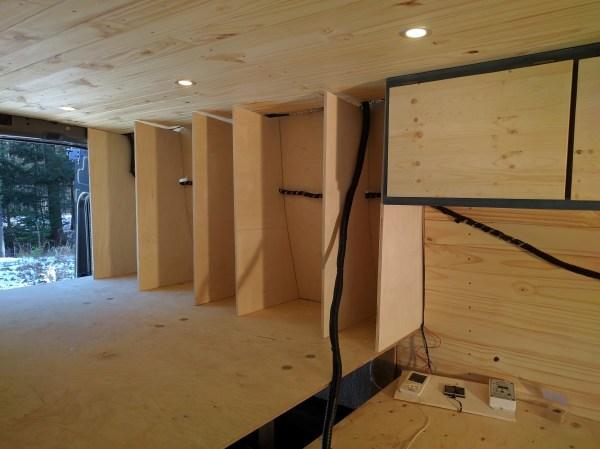 Bed Storage Van Conversion (8)