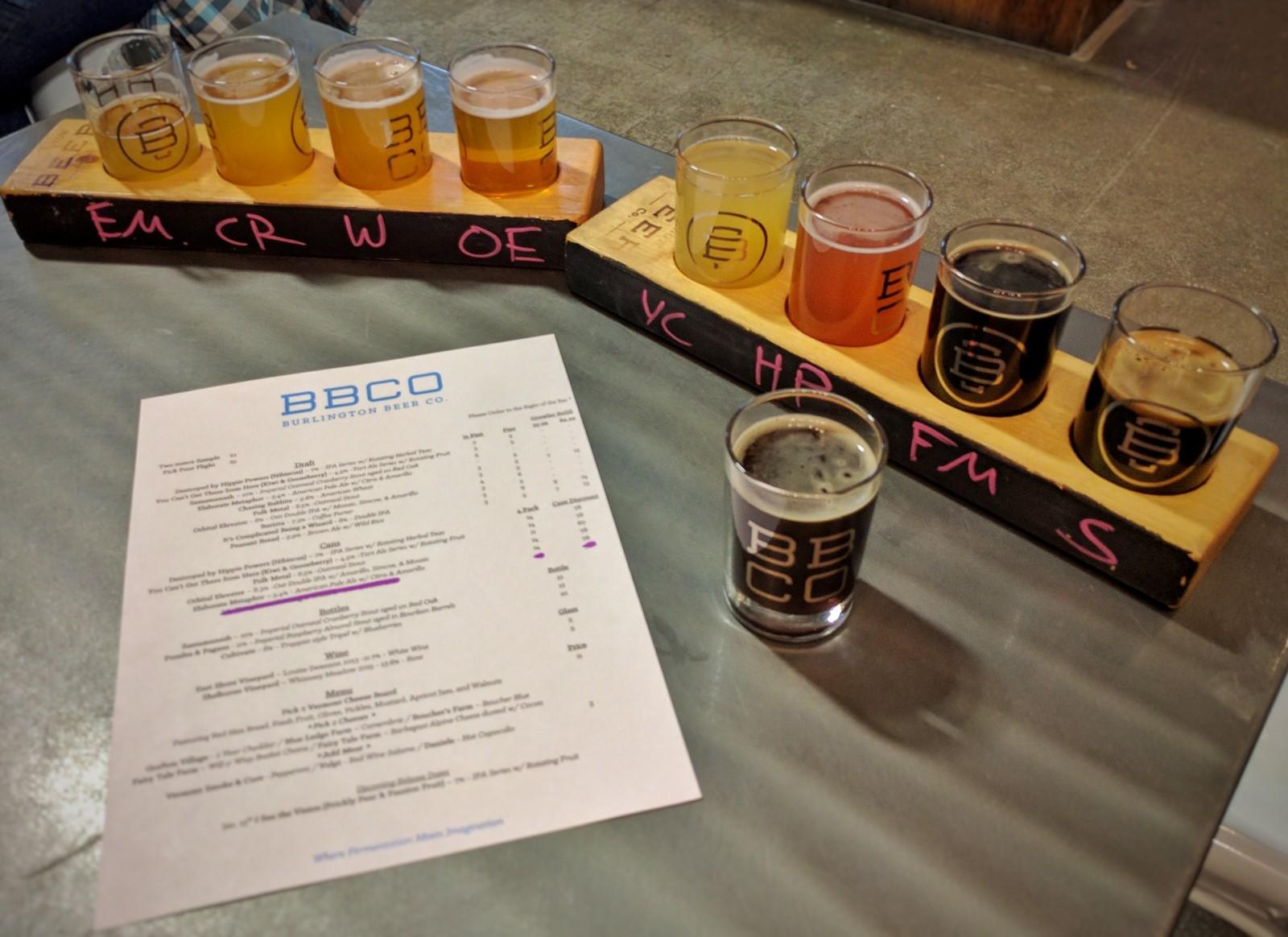 Burlington Brewing Company, Vermont