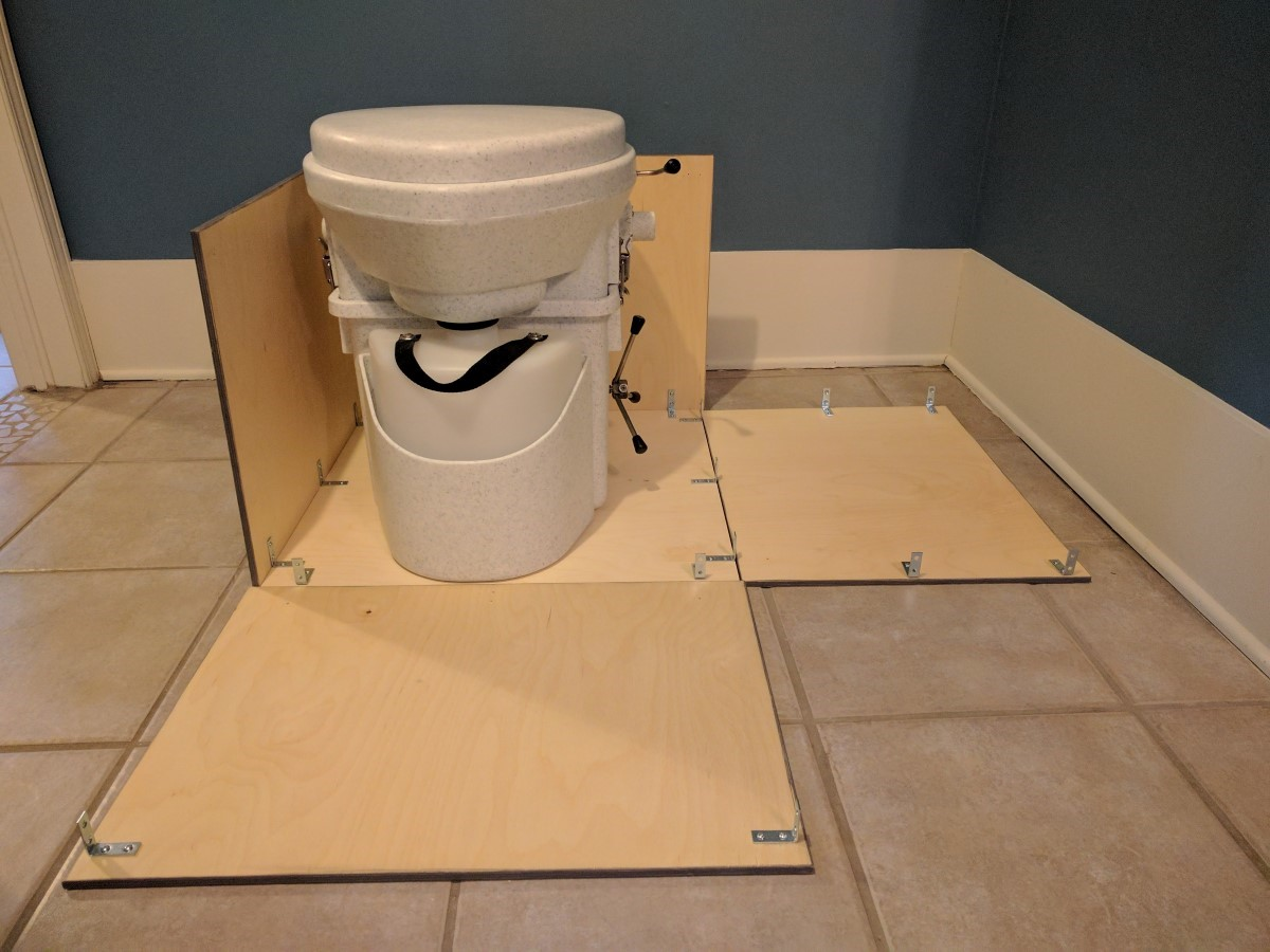 composting toilet installation faroutride. Black Bedroom Furniture Sets. Home Design Ideas