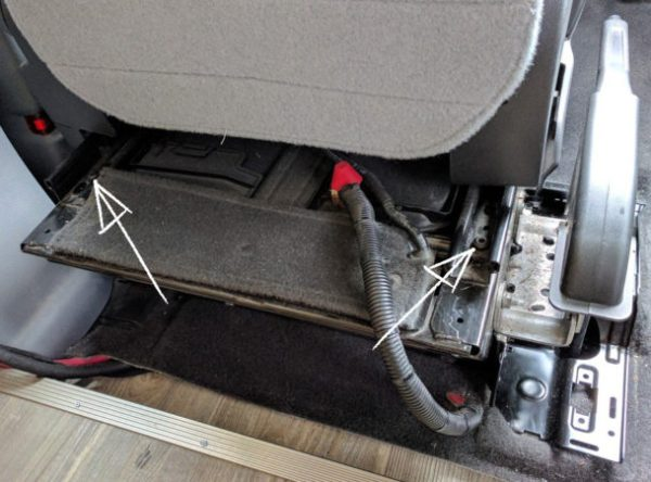 Ford-Transit-Driver-Side-Swivel-Installation-(16-marked)