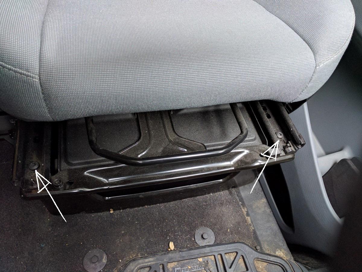 Driver Swivel Seat Installation   FarOutRide