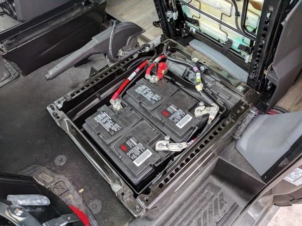 Ford Transit Driver Side Swivel Installation (23)