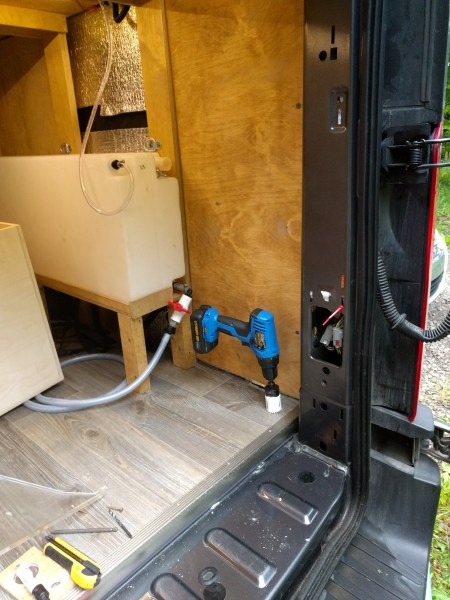 Propane System Installation Camper Van Conversion (8)