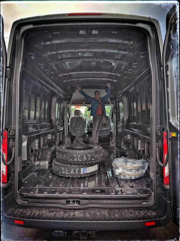 Van Conversion Halfway Through (1-)