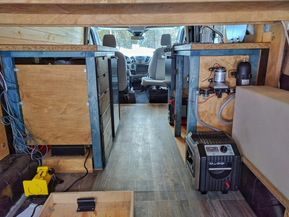 Van Conversion Halfway Through (19-)