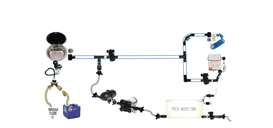 Two Hot Water Heaters Plumbing Diagram