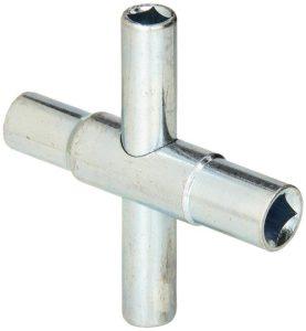 Cobra Products PST154 4-Way Sillcock Key
