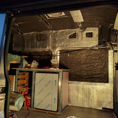 EZ Cool Installation Campervan Conversion (8)