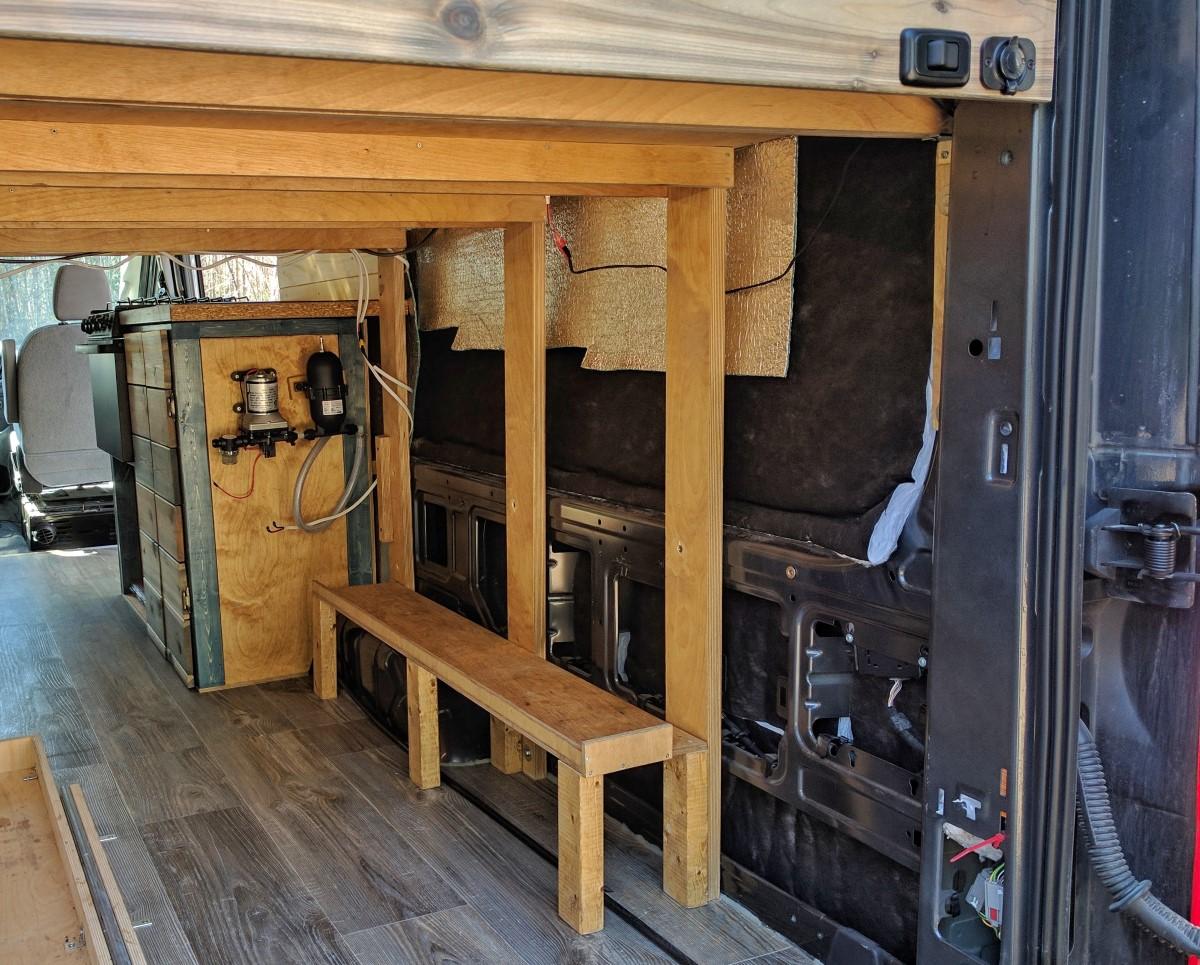 Water System Installation Camper Van Conversion 11
