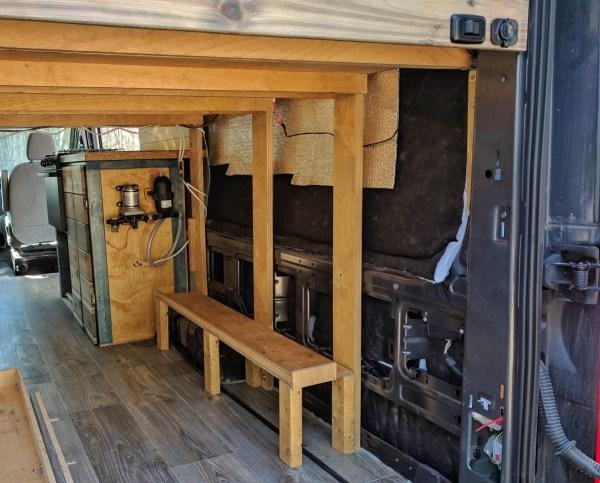 Water System Installation Camper Van Conversion (11)