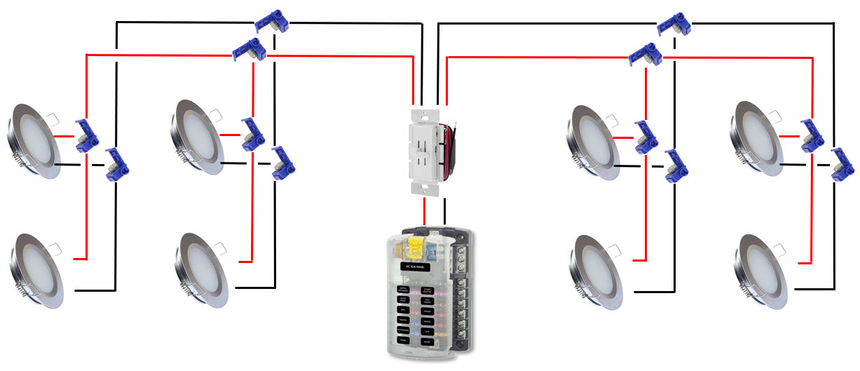 Wiring Schematic For Dimmable Recessed Lighting halo quick ... on