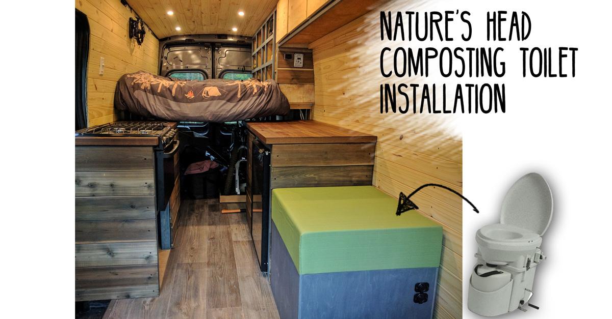 Composting Toilet Installation | FarOutRide