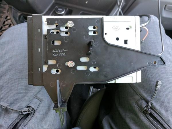 Ford Transit Radio Upgrade DDIN Joying Android (19)