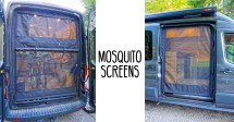 Van Window Mosquito Screens