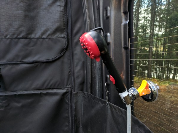 Exterior Shower Campervan Conversion (1)