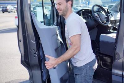 Ford Transit Speakers Upgrade-0413