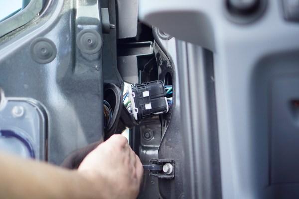 Ford Transit Speakers Upgrade-0431