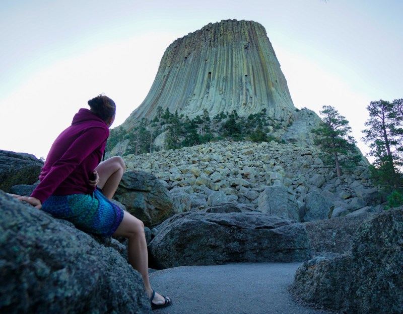 Isabelle Devil Towers Wyoming