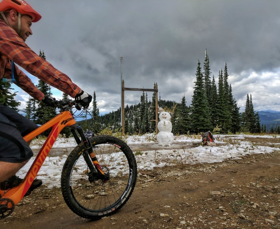 Whitefish Resort MTB Snow
