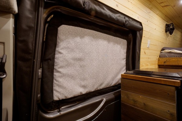 Ford Transit Insulated Window Covers Interior (1)