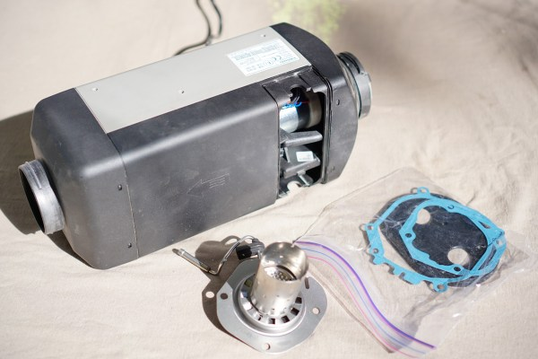 Webasto How to Install New Combustion Chamber - Material