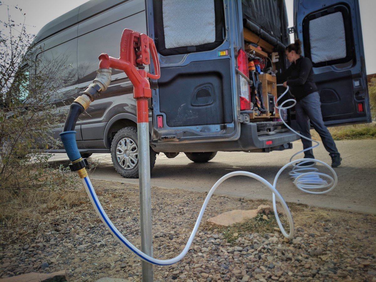 Water System Guide for DIY Camper Van Conversion | FarOutRide