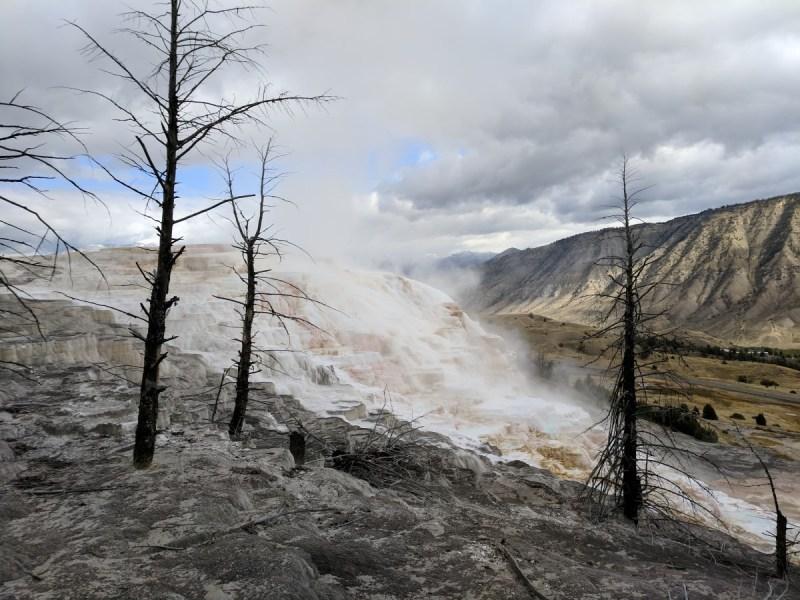 Yellowstone Mammoth Hot Springs 2