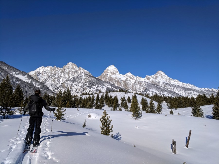 Grand Teton National Park Splitboarding