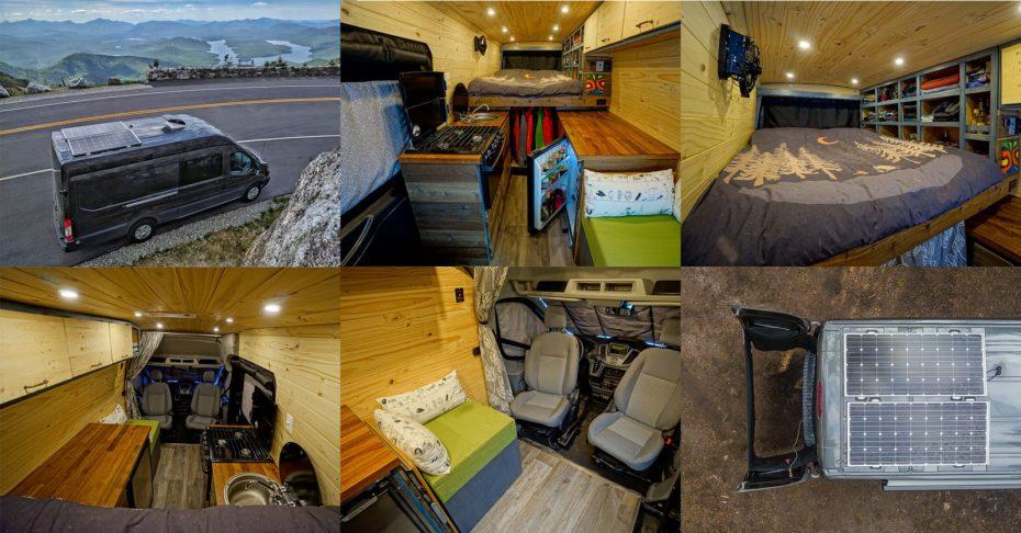 Ford Transit Camper Van DIY Conversion | FarOutRide