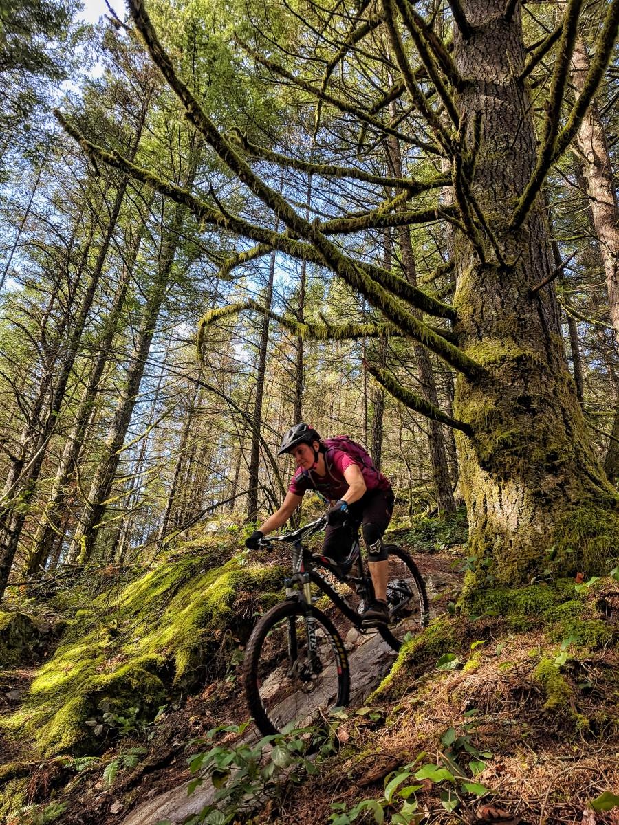 Isabelle Mountain Biking Faroutride Squamish