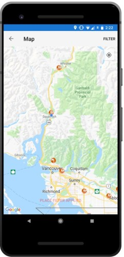 How to find water free vanlife, iOverlander app