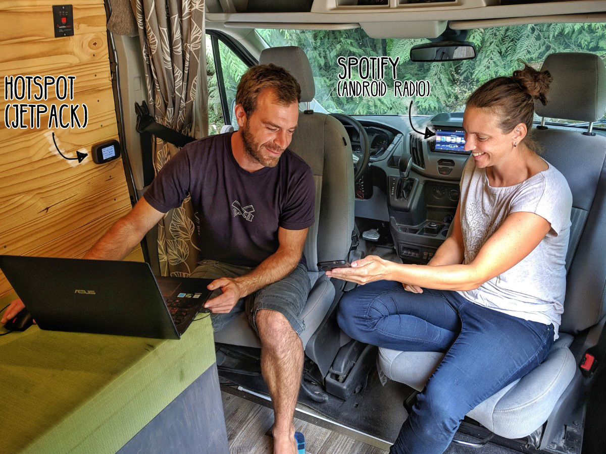 Internet on the road - A vanlife guide on how to stay