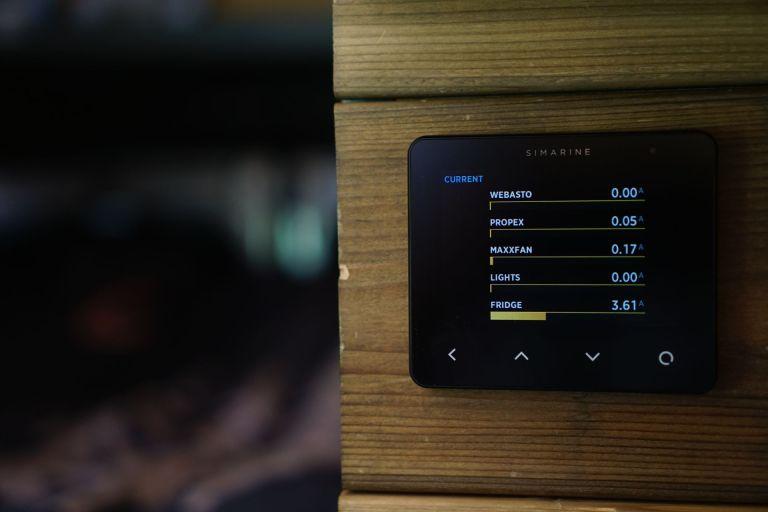 Simarine Pico Consumers Screen