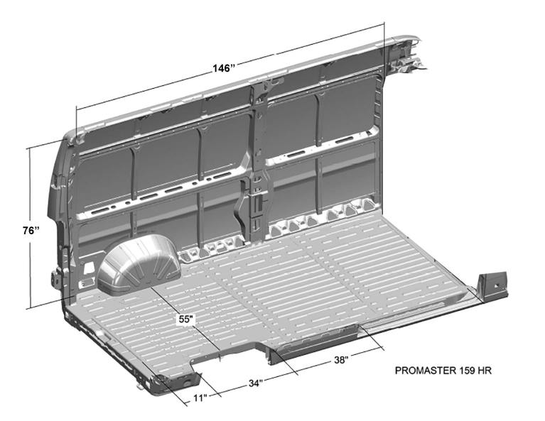 Ram-ProMaster-Interior-Cargo-Dimensions-(159WB,-High-Roof)