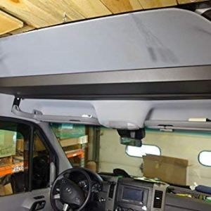 RB Components 2007-2018 High Roof Sprinter Van Raised Headliner Storage Shelf