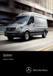 Sprinter Van Owner Manual